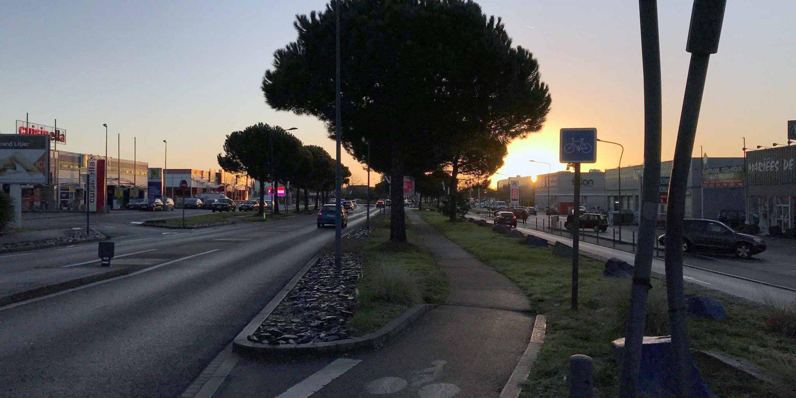 LA Route de Vannes - Nantes Saint-Herblain